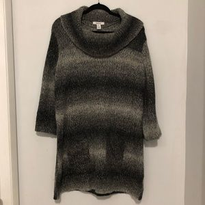 Style & Co Gray Sweater Dress Size XL